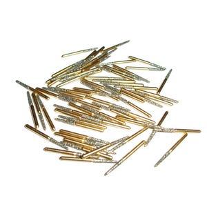 Rotary Curettage Gold Diamond Burs MaXcut