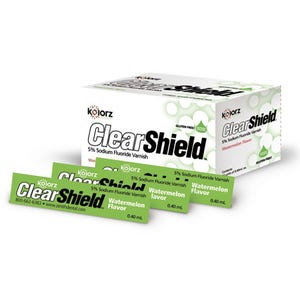 Kolorz Clearshield 5% Fluoride Varnish