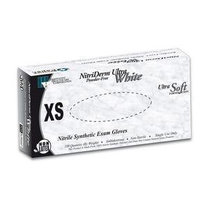 Nitriderm Ultra White Nitrile Gloves