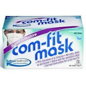 Com-Fit Super Sensitive Face Masks