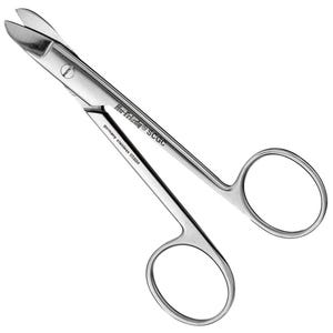 Crown & Gold Scissors Hu-Friedy
