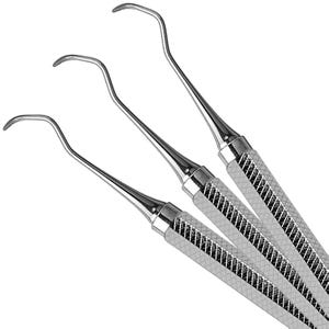 Sickle Scalers (2 Octagonal Hdl) Hu-Friedy
